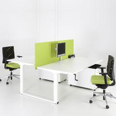 Bureauopstelling Connect  2 werkplekken