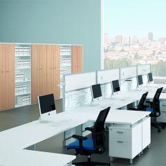 Bureauopstelling Cosa 2 werkplekken