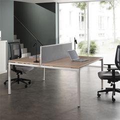 Bureauopstelling Luca basic 2 werkplekken