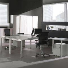 Bureauopstelling Luca 2 werkplekken