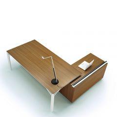 Directiebureau R900 met houten zijkant