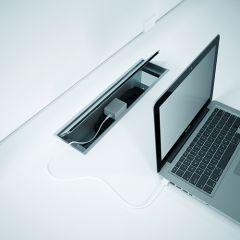 Fliptop kabeldoorvoer Designline