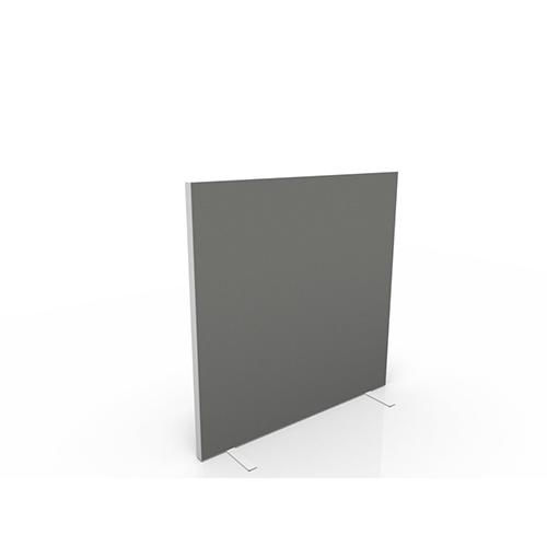 Vrijstaand scheidingswand 120cm hoog stof egaal