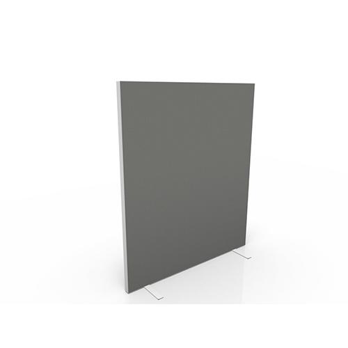 Vrijstaand scheidingswand 140cm hoog stof egaal