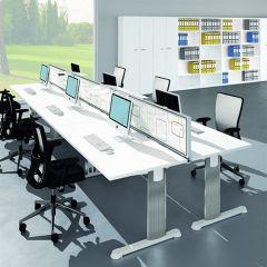 Bureauopstelling Cosa 6 werkplekken