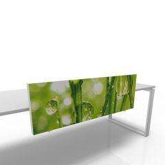 Scheidingswand 40cm hoog custom print