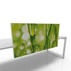 Scheidingswand 60cm hoog custom print